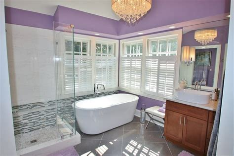 Get Inspired With Purple Bathrooms