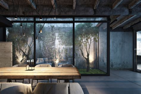 Industrial Home Style : Industrial Style Home Design