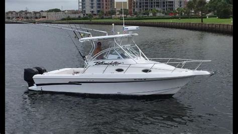 Used Proline Boats by 26ft 1999 Pro Line 2610 Walkaround Pro Line Buy And