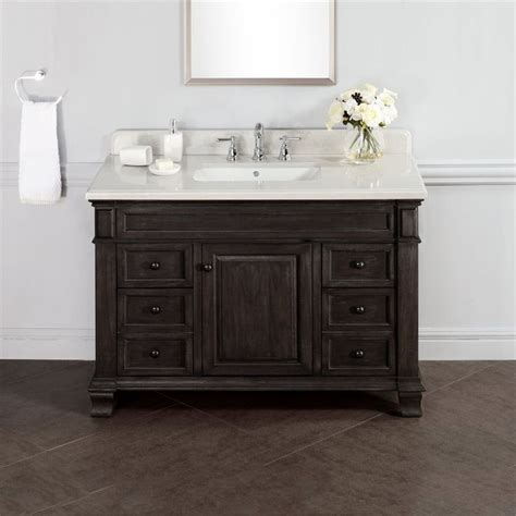 rustic bathroom vanities images  pinterest