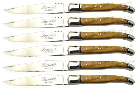 couteau a steak laguiole couteaux steak laguiole ziloo fr