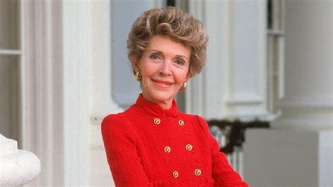 Nancy Reagan Wore The Reagan Red