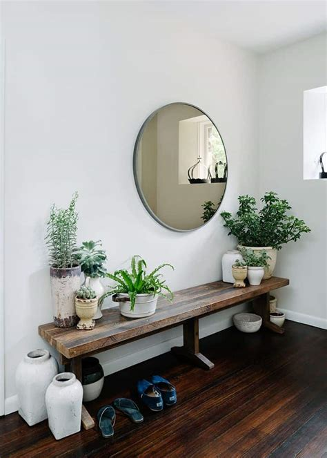 Mirror Entryway by Enlarge Your Space With 18 Entryways With
