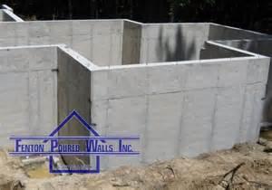 pouring concrete walls services