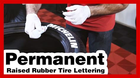 tire stickers install permanent tire letters michelin