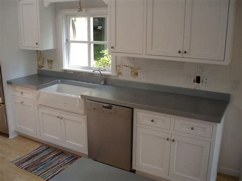 Zinc Countertop Gallery   Brooks Custom