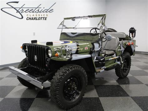 military jeep willys for sale 1945 willys mb military jeep for sale