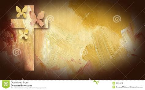 cross  jesus  forgiven butterflies stock
