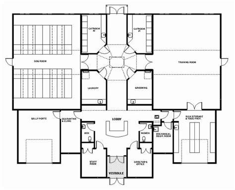 general layout  sm facility dog care facility floorplans pinterest   layout