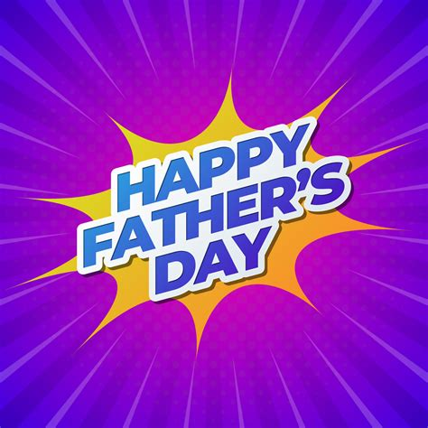 Father's day, in the united states, holiday (third sunday in june) to honor fathers. Happy Father's Day Banner - Download Free Vectors, Clipart ...