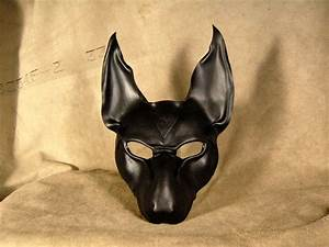 anubis leather mask by midnightzodiac on deviantart With anubis mask template