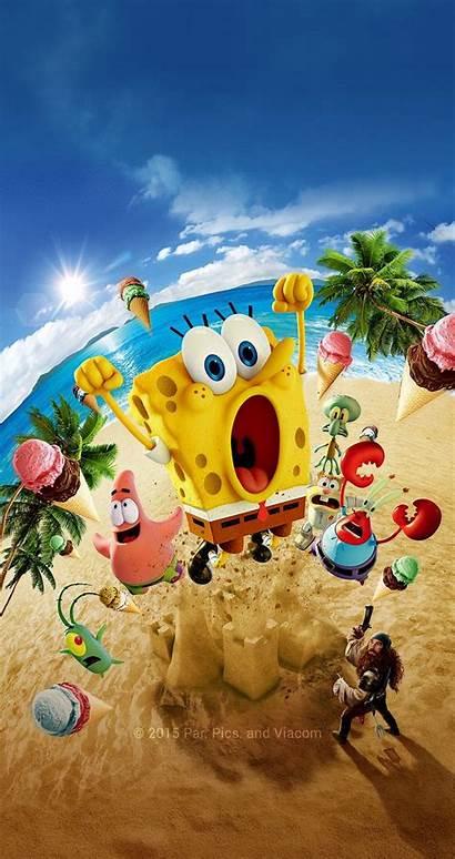 Spongebob Iphone Squarepants Wallpapers Poster Disney Pattern