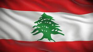 Lebanese Flag Stock Footage Video | Shutterstock