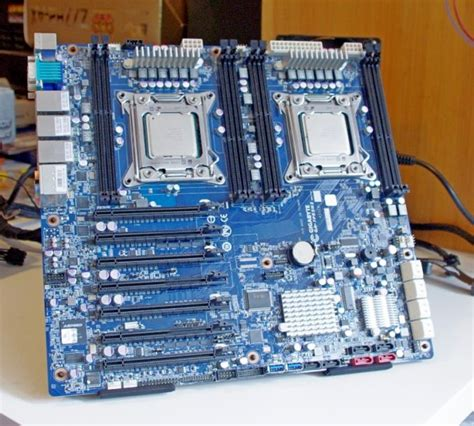 gigabyte motherboard server ga cpu dual processor gaming bios pc turnhardware test
