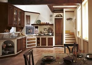Cucina in muratura solidit tradizione e atmosfere for Angolo cucina in muratura