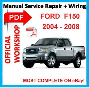 free auto repair manuals 2008 ford f series transmission control official workshop manual service repair for ford f 150 f150 2004 2008 wiring ebay