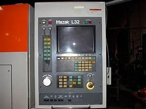 1991 Mazak 1500w Co2 Laser  96 U2033x48 U2033x4 U2033  L32 Control