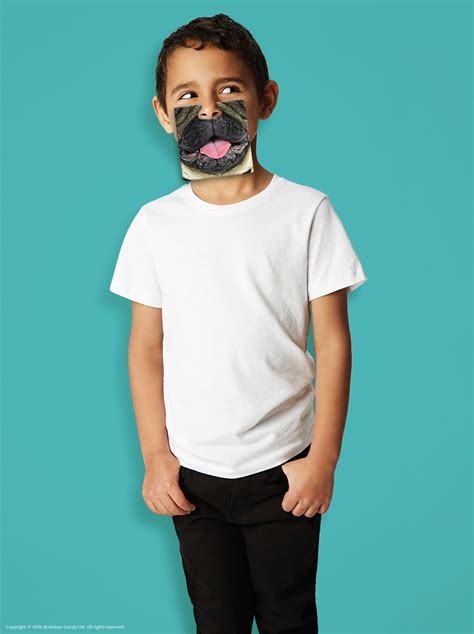 pug birthday card  wearable face mask  love pugs