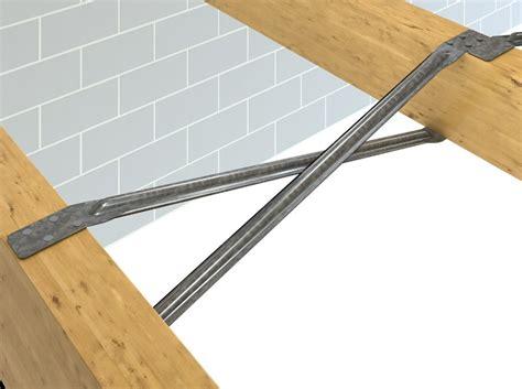 Floor Joist Bracing Requirements by Herringbone Joist Strut Strong Tie