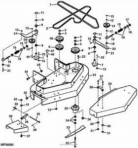 John Deere 42 Inch Mower Deck Parts Diagram  U2014 Untpikapps