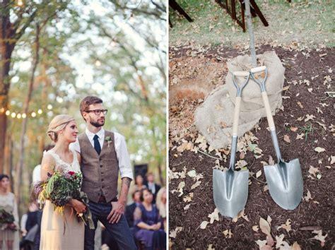 Bohemian Backyard Wedding by Backyard Bohemian Wedding Andrew