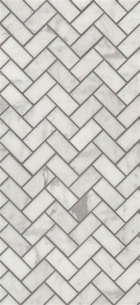 beaumont tiles carrara bianco herringbone mosaic