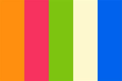 Tropical Summer  Color Scheme 1 Color Palette