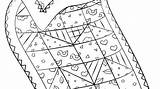 Coloring Sheets Quilting Quilt Quilts Imgcc Colouring sketch template