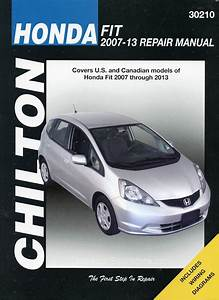 Honda Fit Repair Manual By Chilton  2007