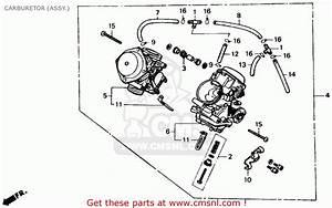 Honda Xl600v Transalp 1989  K  Usa Carburetor  Assy