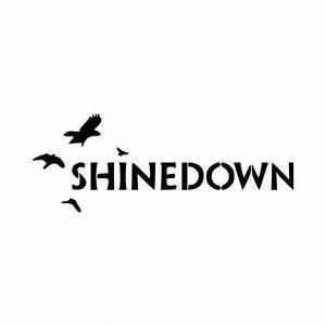 Shinedown Rock Band Logo Vinyl Decal Sticker