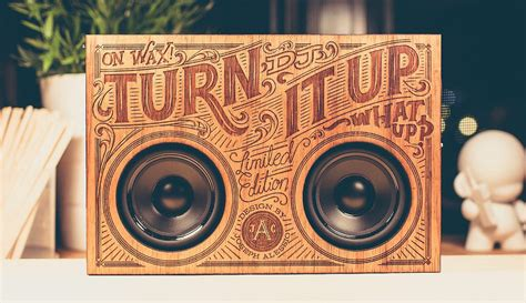wooden boombox review