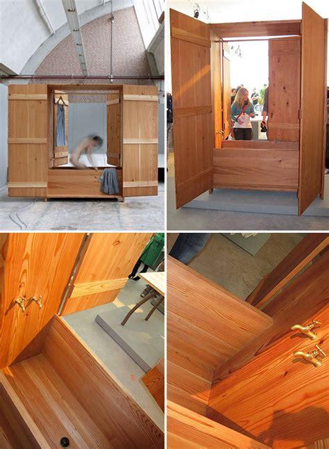 Finnish Sauna in a Cupboard   Captivatist