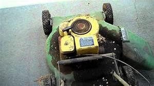 Old John Deere Push Mower