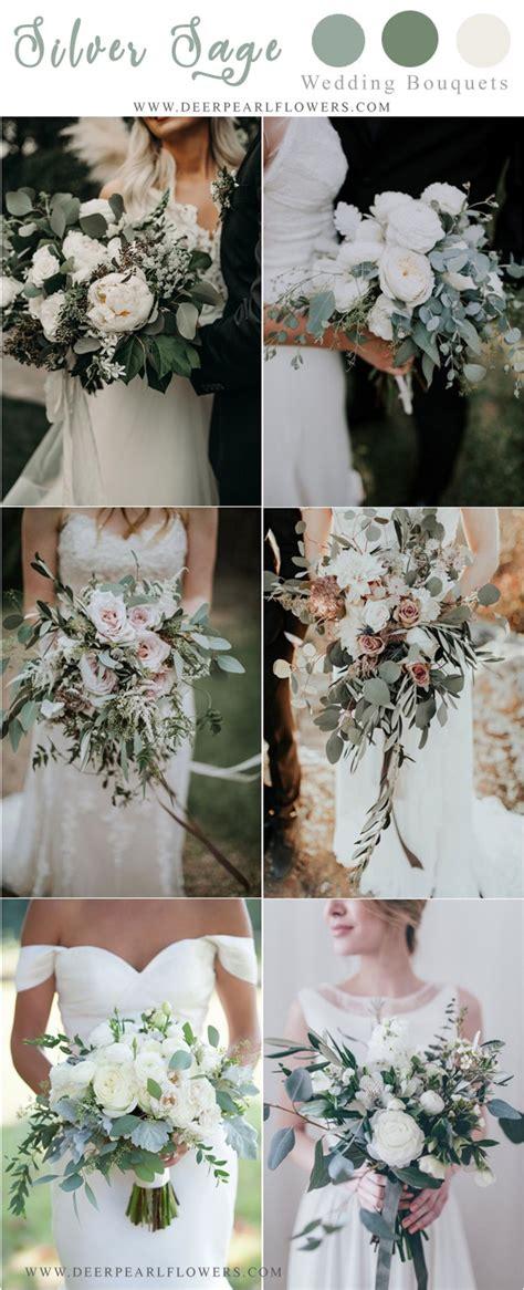 silver sage green wedding color ideas   deer