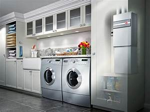Laundry room ideas pictures options tips advice hgtv for Kitchen cabinet trends 2018 combined with sticker maker machine