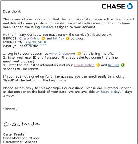 chase bank account verification phishing scam techjaws