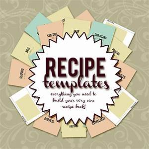 create your own recipe book with this 85 x 11 recipe With create your own cookbook template