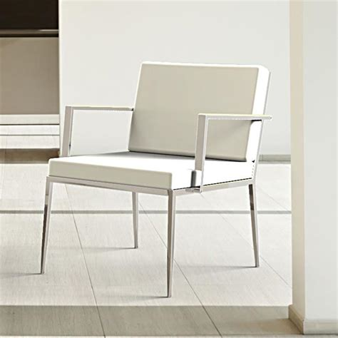 fauteuil design cuir blanc petit fauteuil design cuir blanc nicky sur cdc design