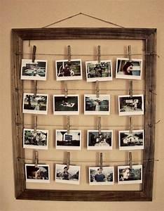 Pele Mele Photo Original : fabriquer un cadre photo 60 id es pour un objet valeur sentimentale d eco decor cadre ~ Teatrodelosmanantiales.com Idées de Décoration