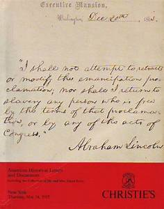 christie39s american historical letters and documents the With american historical documents for sale