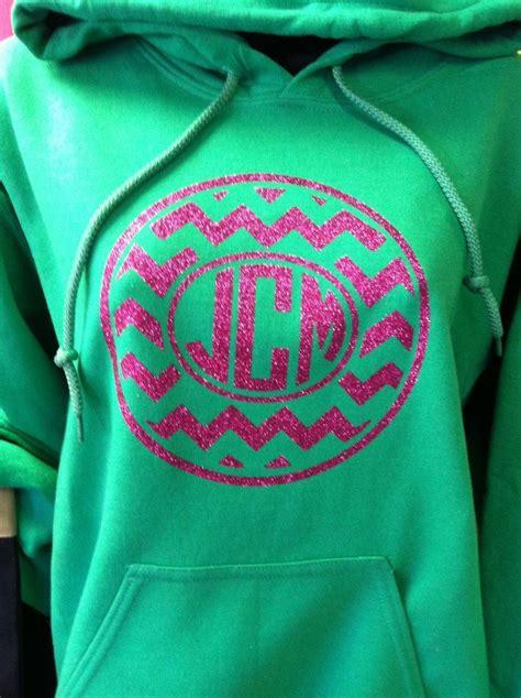 glitter heat press circle monogram chevron hoodie sweatshirt  shirt heat press