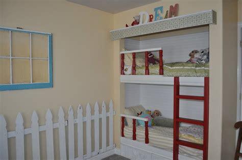 closet bunk beds diy