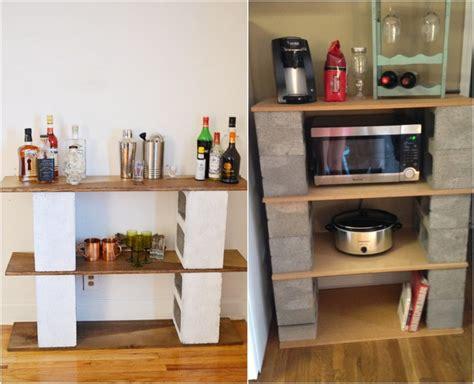 diy cuisine parpaing creux comment en faire des meubles fonctionnels