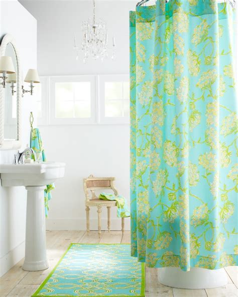 lilly pulitzer curtains lilly pulitzer florals shower curtain room