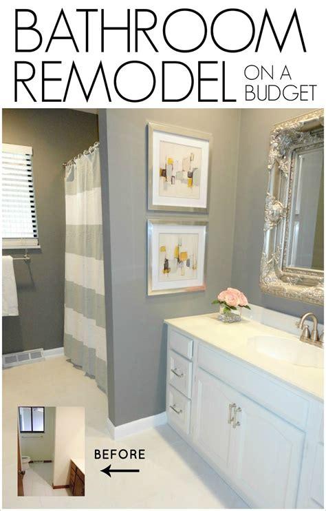Redo Bathroom Ideas by Diy Bathroom Remodel On A Budget Livelovediy Bloglovin