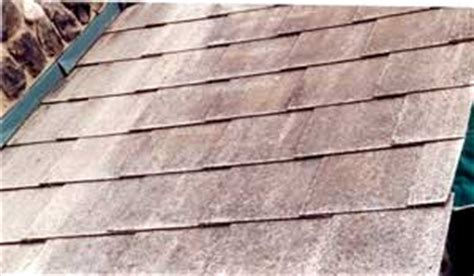 asbestos roof shingle replacement