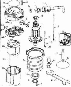 Dewalt Model Dw616 Router Genuine Parts