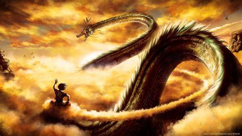 D y / d e. Fond d'écran : Dragon Ball, Son Goku, dragon, Dragon Ball Z, mythologie, Shenron, capture d ...