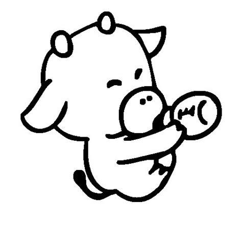 disegni bebe da stare disegno di beb 232 mucca da colorare acolore